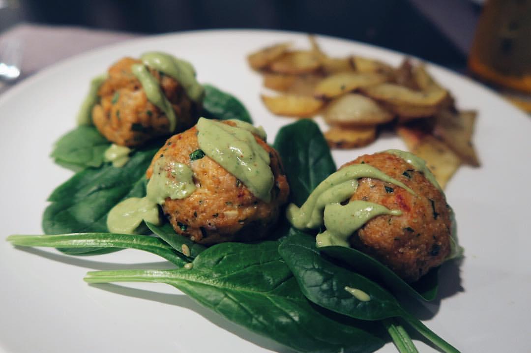 salmon-meatballs